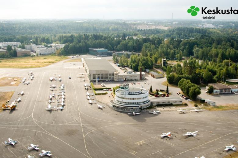 Helsinki malmin lentokenttä