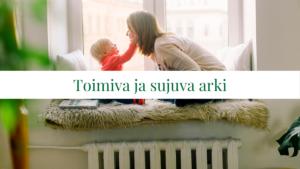 Kuvassa äiti ja lapsi
