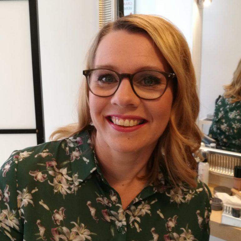 Kuvassa Salon kunnallisjärjestön puheenjohtaja Johanna Riski