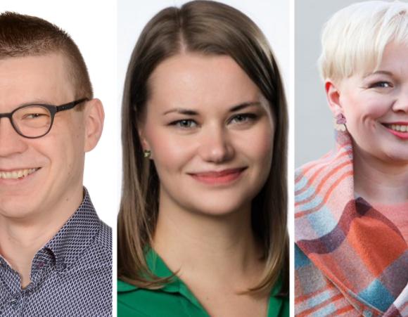 Varsinais-Suomen Keskustan uusiksi varapuheenjohtajiksi Pekka Kuusisto Laitilasta ja Julia Koskinen Turusta