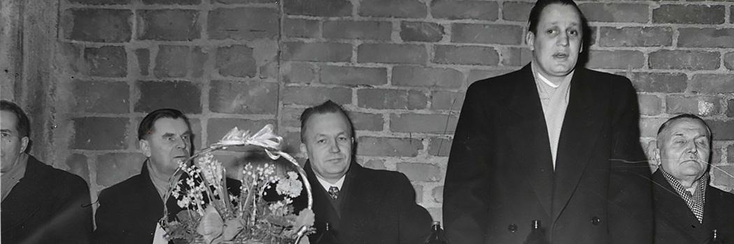 Pursimiehenkatu 15 Harjannostajaiset 18.02.1952