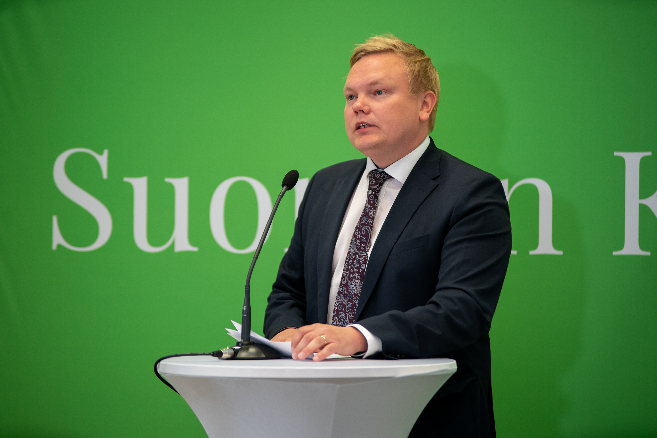 Antti kurvinen puoluevaltuusto 13062020