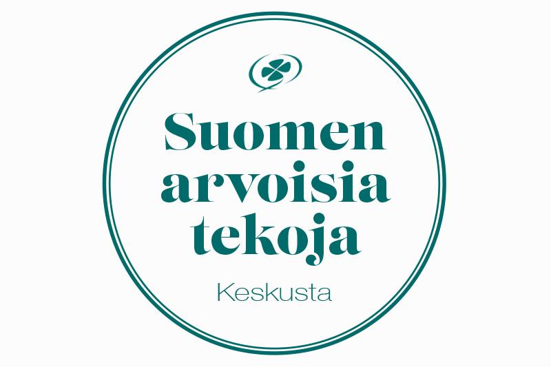 Suomen arvoisia tekoja logo