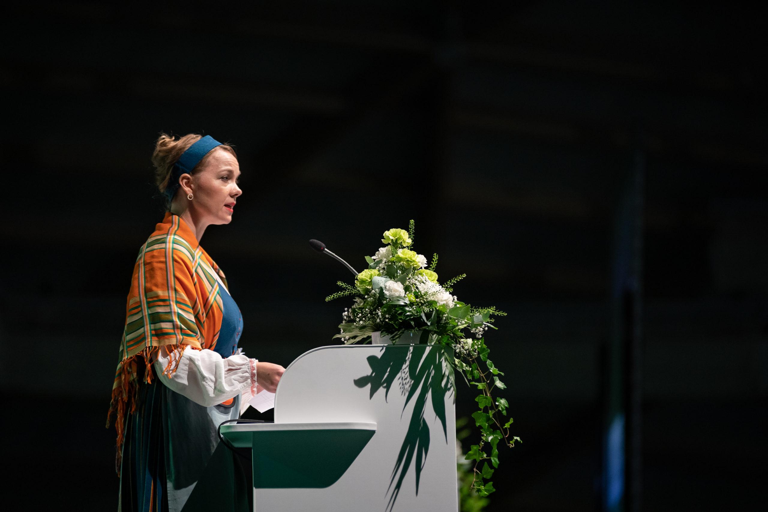 Puheenjohtaja Katri Kulmuni