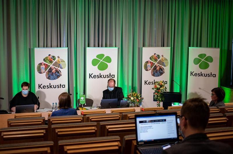 Puoluevaltuuston kokous Mikkelissä