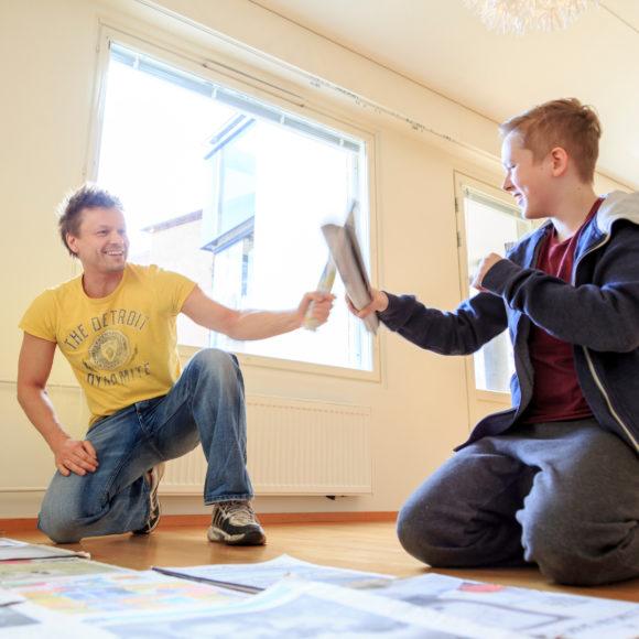 Keskustan Honkonen ja Keskustanuorten Markkanen: Nuoret pois vuokra-asumisen loukusta – jokaiselle nuorelle oikeus omaan asuntoon